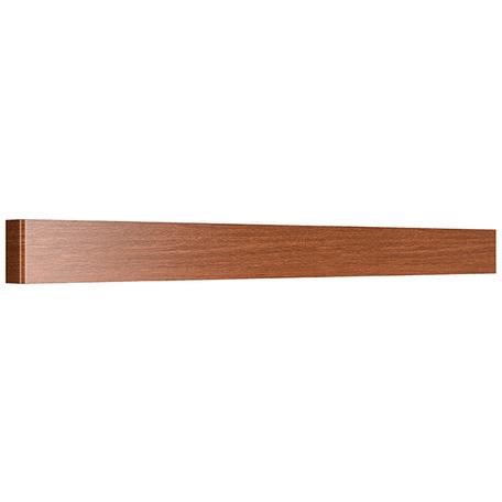 Настенный светодиодный светильник Lightstar Fiume 810638 4000K (дневной), коричневый, металл