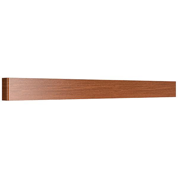 Настенный светодиодный светильник Lightstar Fiume 810638, LED 30W 4000K 2850lm, коричневый, металл - фото 1