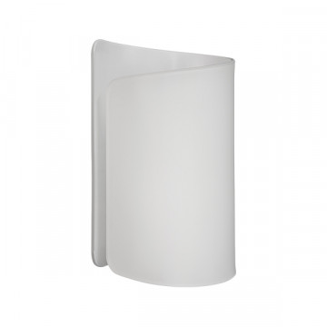 Настенный светильник Lightstar Pittore 811610, 1xE27x40W, белый, металл, стекло