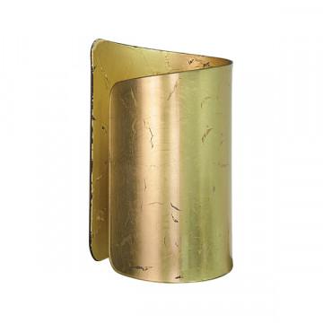 Настенный светильник Lightstar Pittore 811612, 1xE27x40W, матовое золото, металл, стекло