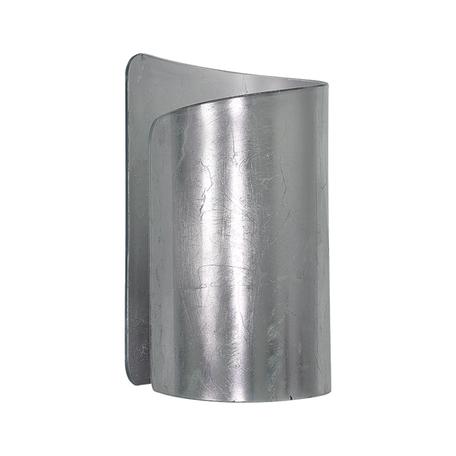 Настенный светильник Lightstar Pittore 811614, 1xE27x40W, серебро, металл, стекло