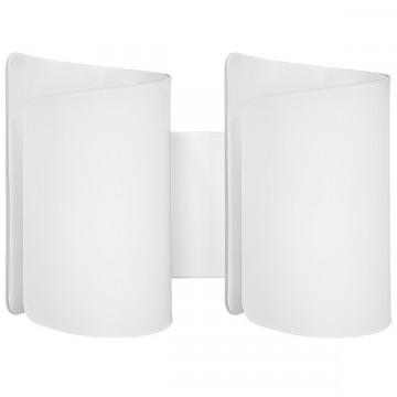 Настенный светильник Lightstar Pittore 811620, 2xE27x40W, белый, металл, стекло
