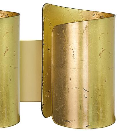 Настенный светильник Lightstar Pittore 811622, 2xE27x40W, матовое золото, металл, стекло
