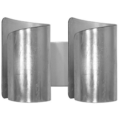 Настенный светильник Lightstar Pittore 811624, 2xE27x40W, серебро, металл, стекло