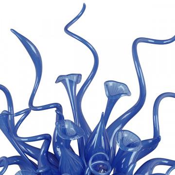 Светодиодное бра Lightstar Artglass 890039, LED 7W, хром, синий, металл, стекло - миниатюра 4