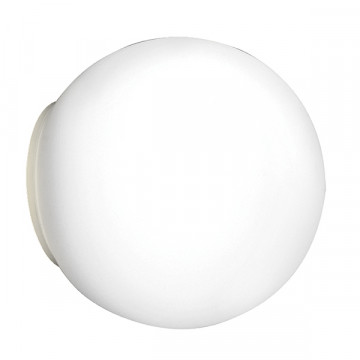Потолочный светильник Lightstar Globo 803010, 1xG9x40W, хром, белый, металл, стекло