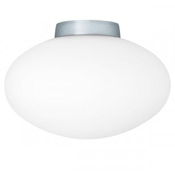 Потолочный светильник Lightstar Uovo 807010, 1xG9x40W, хром, белый, металл, стекло
