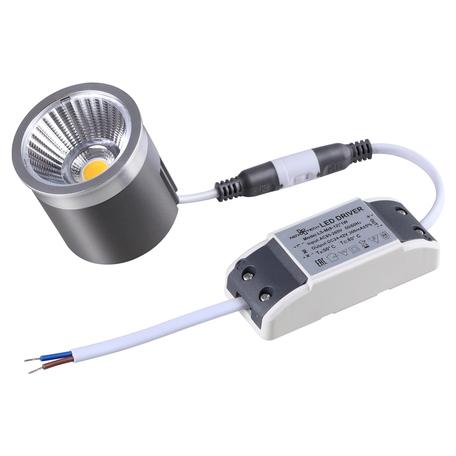 LED-модуль Novotech Diod 358430, LED 12W 4000K, алюминий, металл