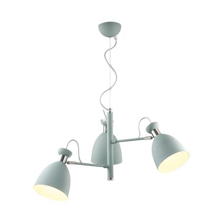 Подвесная люстра с регулировкой направления света Lumion Moderni Kizzy 3735/3, 3xE27x60W, серый, металл
