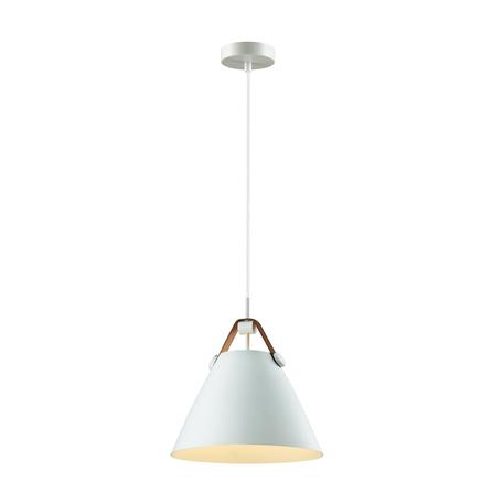 Подвесной светильник Lumion Suspentioni Darren 3720/1, 1xE27x60W, белый, коричневый, металл