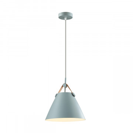Подвесной светильник Lumion Suspentioni Darren 3721/1, 1xE27x60W, серый, металл