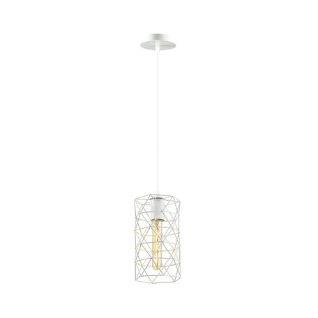 Подвесной светильник Lumion Suspentioni Olaf 3730/1, 1xE27x60W, белый, металл
