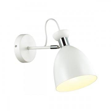 Потолочный светильник с регулировкой направления света Lumion Kizzy 3734/1W, 1xE27x60W, белый, хром, металл