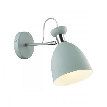 Потолочный светильник с регулировкой направления света Lumion Kizzy 3735/1W, 1xE27x60W, серый, хром, металл