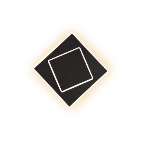 Настенный светильник Mantra Dakla 6427, черный, белый, металл, пластик