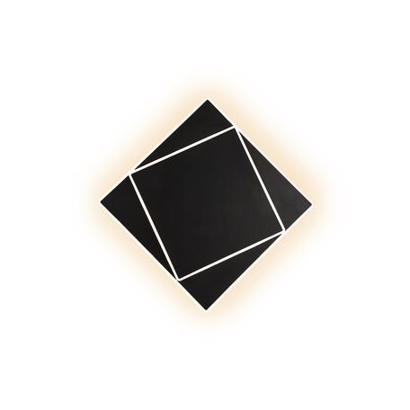 Настенный светильник Mantra Dakla 6428, черный, белый, металл, пластик