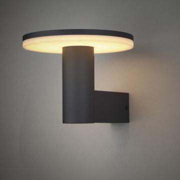Настенный светильник Mantra Cerler 6496, IP54, серый, белый, металл, пластик - миниатюра 2