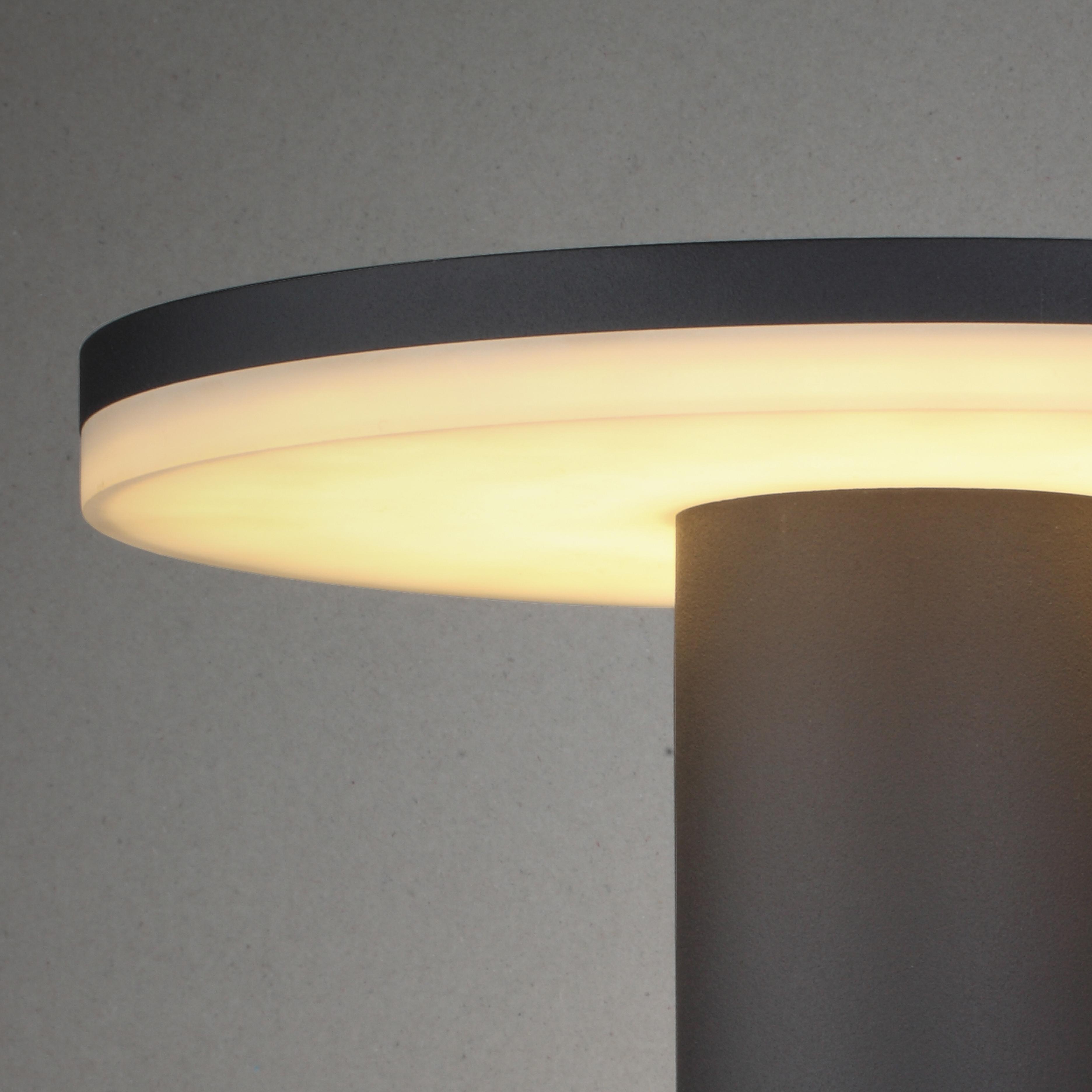 Настенный светильник Mantra Cerler 6496, IP54, серый, белый, металл, пластик - фото 3