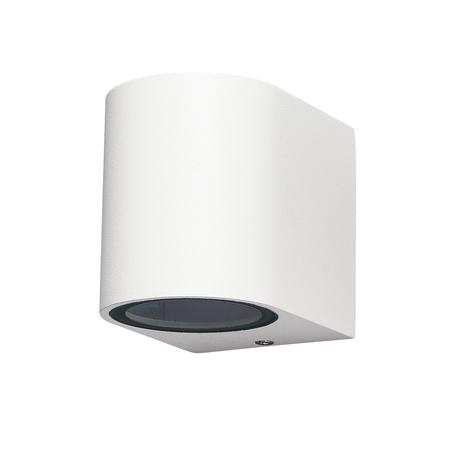 Настенный светильник Mantra Kandanchu 6513, IP54, белый, металл, стекло