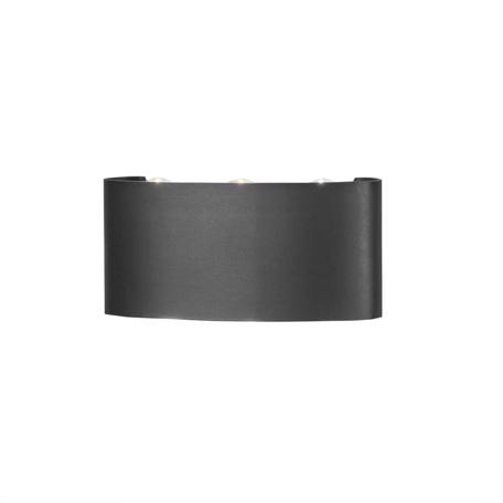 Настенный светильник Mantra Arcs 6540, IP54, серый, металл, стекло