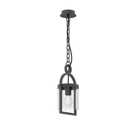 Подвесной светильник Mantra Maya 6555, IP54, серый, прозрачный, металл, стекло