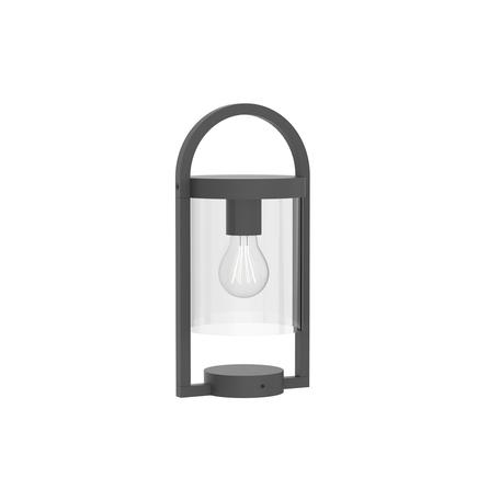 Садовый светильник Mantra Maya 6550, IP54, серый, прозрачный, металл, стекло