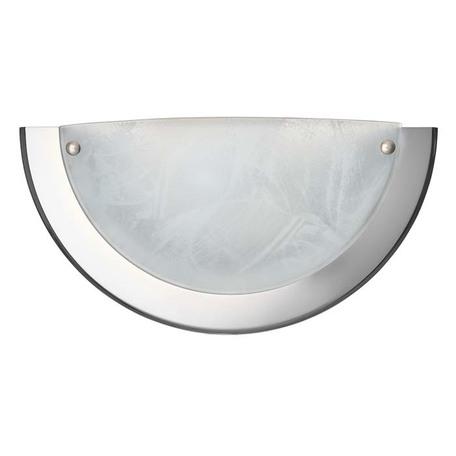 Настенный светильник Sonex Alabastro 022, 1xE27x100W, хром, белый, металл, стекло