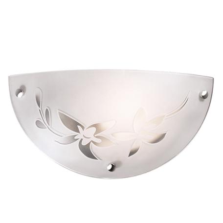 Настенный светильник Sonex Romana 1214/A, 1xE27x60W, хром, матовый, прозрачный, металл, стекло