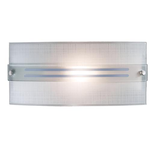 Настенный светильник Sonex Deco 1223, 1xE14x60W, синий, хром, матовый, прозрачный, металл, стекло - фото 1