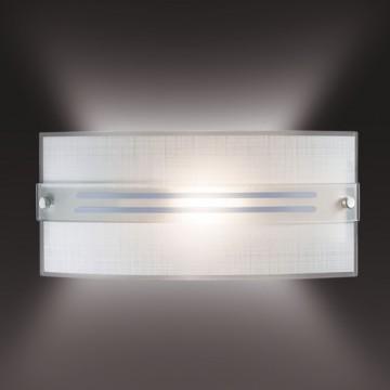 Настенный светильник Sonex Deco 1223, 1xE14x60W, синий, хром, матовый, прозрачный, металл, стекло - миниатюра 2