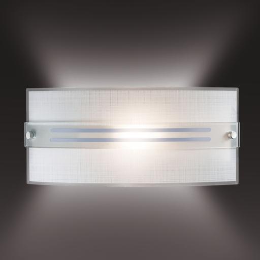 Настенный светильник Sonex Deco 1223, 1xE14x60W, синий, хром, матовый, прозрачный, металл, стекло - фото 2