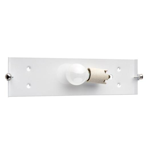 Настенный светильник Sonex Deco 1223, 1xE14x60W, синий, хром, матовый, прозрачный, металл, стекло - фото 3
