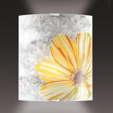 Настенный светильник Sonex Treza 1234/A, 1xE27x60W, металл, стекло - миниатюра 2