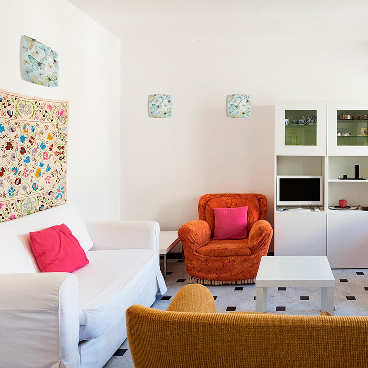 Потолочный светильник Sonex Baleta 1249, 1xE27x60W, хром, разноцветный, металл, стекло - фото 2