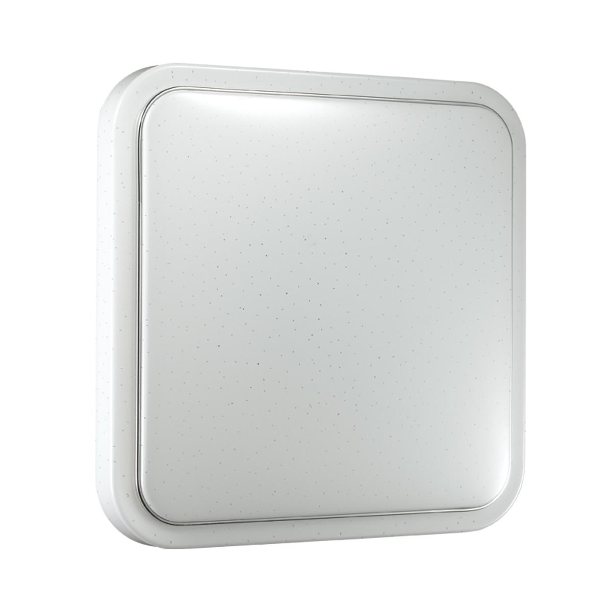 Потолочный светодиодный светильник Sonex Kvadri 2014/C, IP43, LED 28W 4000K 1419lm, белый, металл, пластик - фото 2