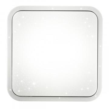 Потолочный светодиодный светильник Sonex Kvadri 2014/C, IP43, LED 28W 4000K 1419lm, белый, металл, пластик - миниатюра 3
