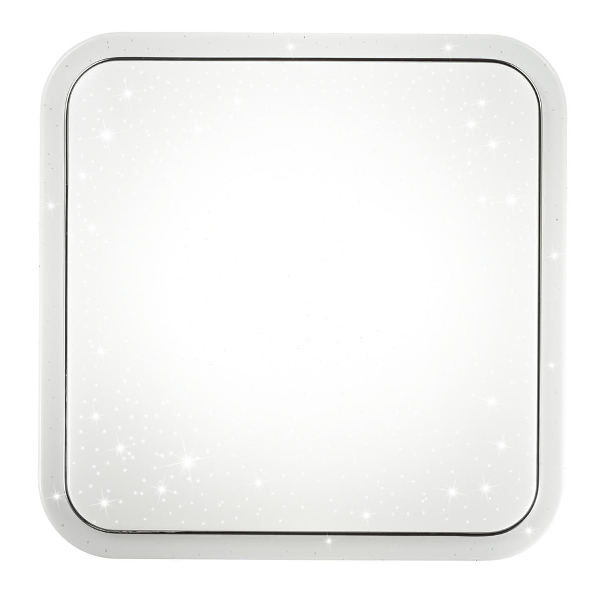 Потолочный светодиодный светильник Sonex Kvadri 2014/C, IP43, LED 28W 4000K 1419lm, белый, металл, пластик - фото 3