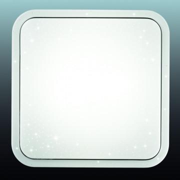 Потолочный светодиодный светильник Sonex Kvadri 2014/C, IP43, LED 28W 4000K 1419lm, белый, металл, пластик - миниатюра 5