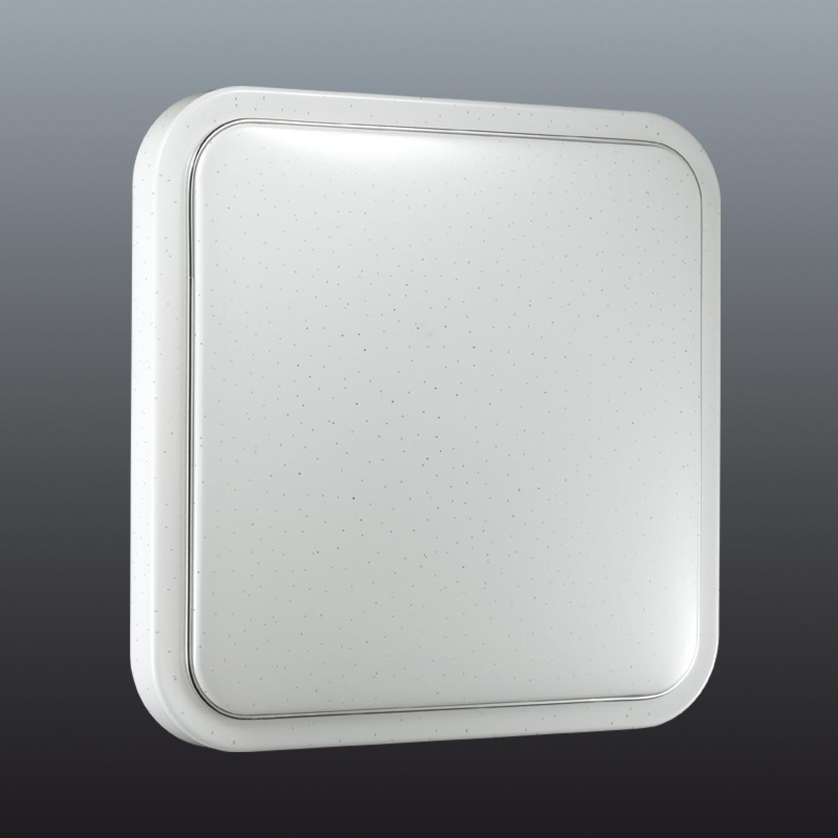 Потолочный светодиодный светильник Sonex Kvadri 2014/C, IP43, LED 28W 4000K 1419lm, белый, металл, пластик - фото 6