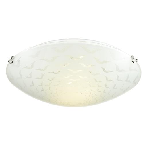Потолочный светильник Sonex Dori 219, 2xE27x100W, хром, матовый, прозрачный, металл, стекло - фото 3
