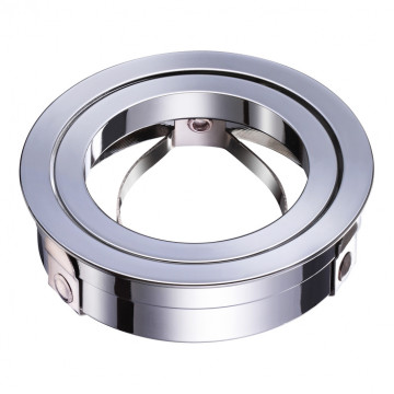 Декоративная рамка Novotech Mecano 370459, хром, металл