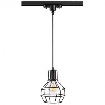 Светильник Novotech Port Zelle 370423, 1xE27x50W, черный, металл