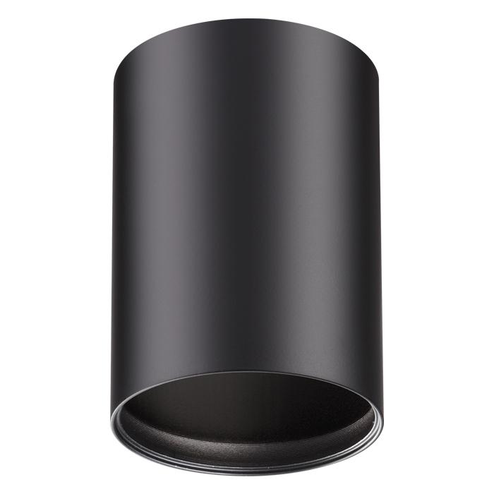 Потолочный светильник Novotech Mecano 370456, 1xGU10x50W, черный, металл - фото 1