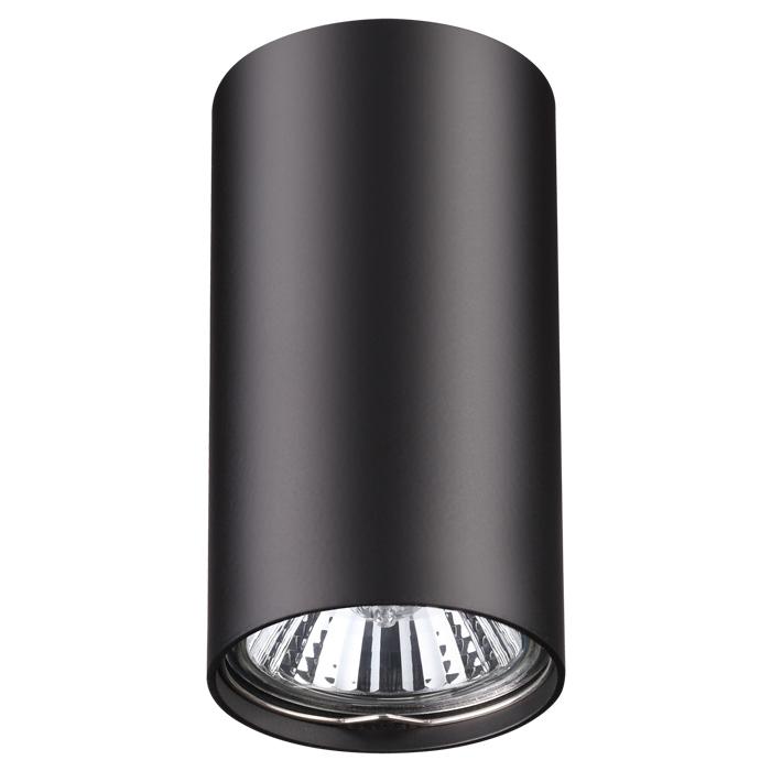 Потолочный светильник Novotech Pipe 370420, 1xGU10x50W, черный, металл - фото 1