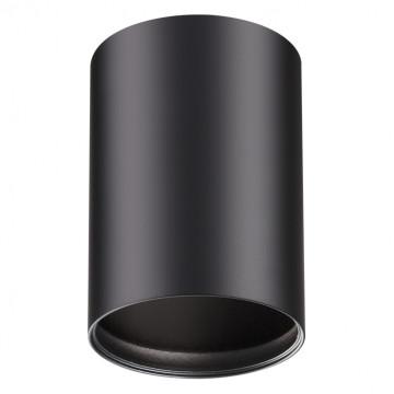 Потолочный светильник Novotech Konst Mecano 370456, 1xGU10x50W, черный, металл