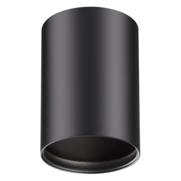Потолочный светильник Novotech Mecano 370456, 1xGU10x50W, черный, металл - миниатюра 1
