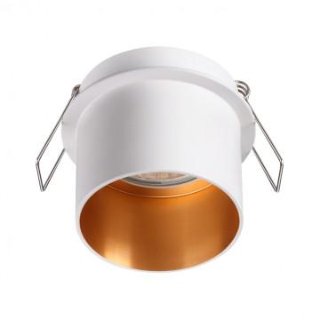 Встраиваемый светильник Novotech Spot Butt 370432, 1xGU10x50W, белый, металл