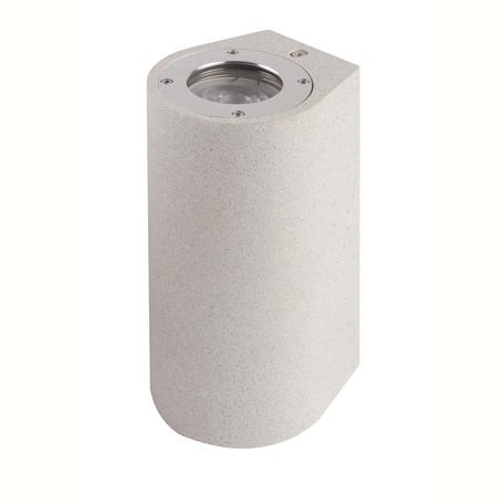 Настенный светильник Mantra Levi 7180, IP65, 2xGU10x12W, белый, бетон