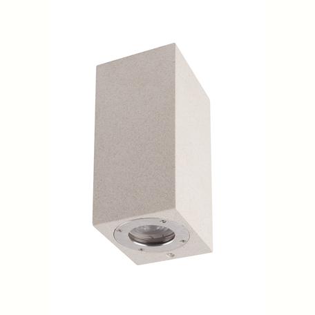 Настенный светильник Mantra Levi 7182, IP65, 2xGU10x12W, белый, бетон