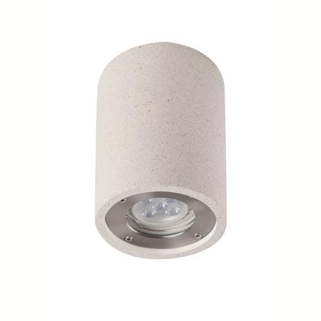 Потолочный светильник Mantra Levi 7184, IP65, 1xGU10x12W, белый, бетон